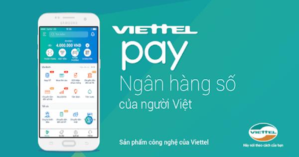 Bạn có thể nạp tiền điện thoại thông qua ứng dụng Viettel Pay